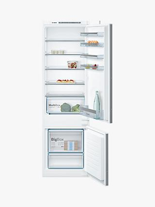 Bosch KIV87VS30G Built-In Fridge Freezer, A++ Energy Rating, 54.1cm Wide