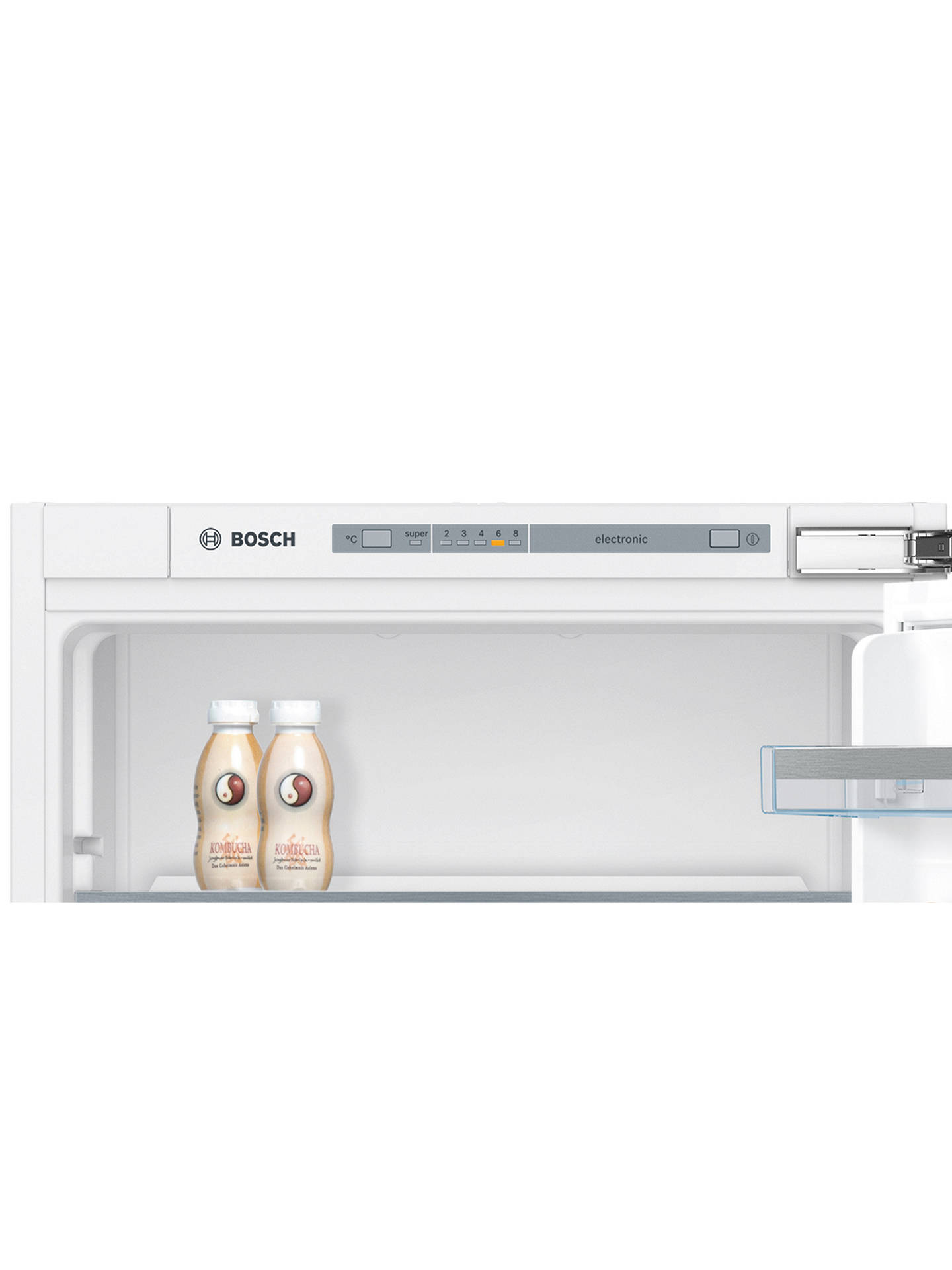 Buy Bosch KIV85VF30G Integrated 50/50 Fridge Freezer, Fixed Door Hinge, A++ Energy Rating, 54.1cm Wide Online at johnlewis.com