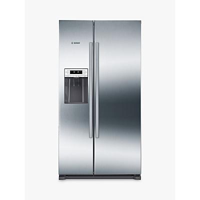 Bosch KAI90VI20G American Style Fridge Freezer, A+ Energy Rating, Stainless Steel