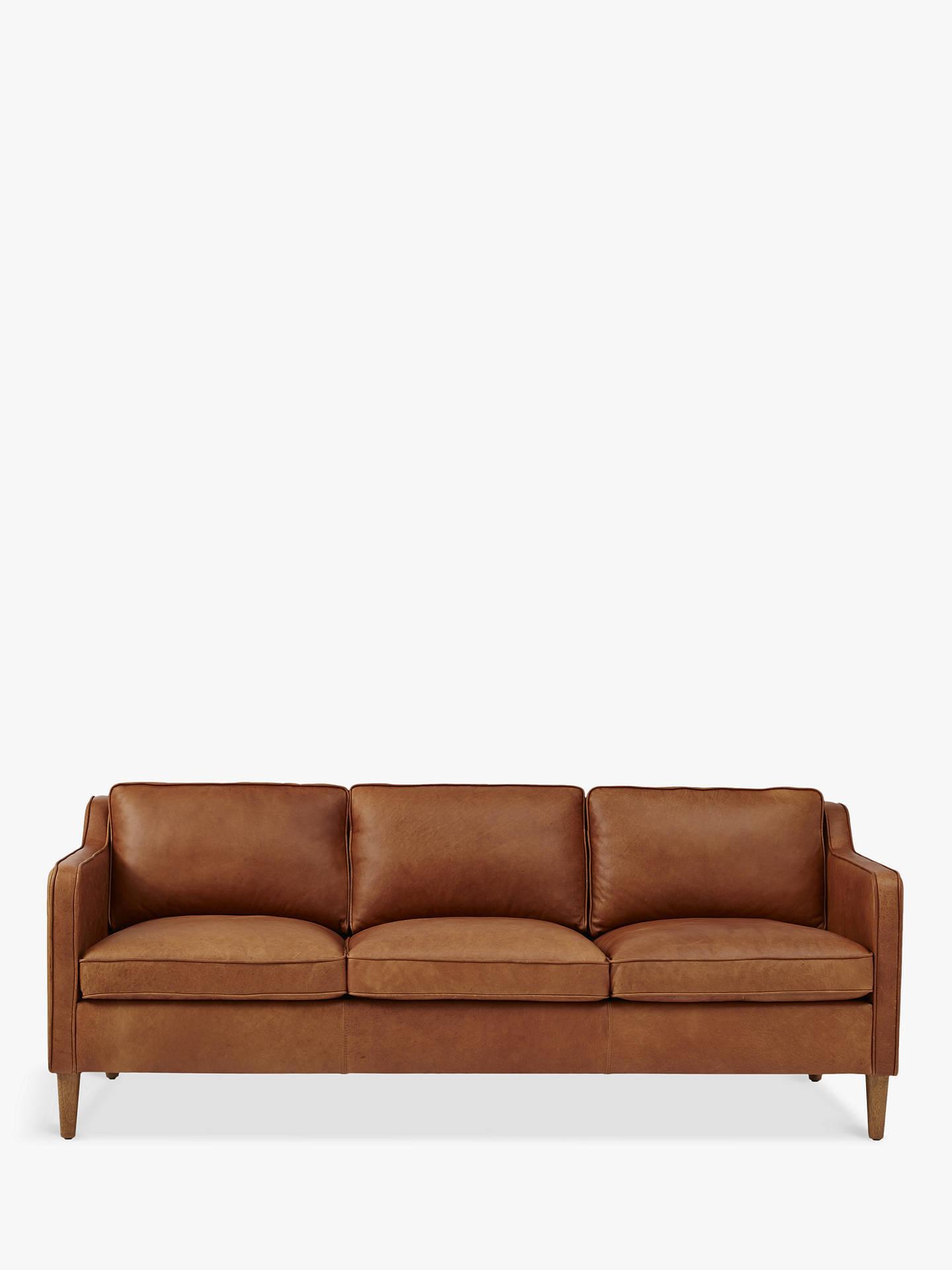 West Elm Hamilton 3 Seater Sofa Sienna Online At Johnlewis