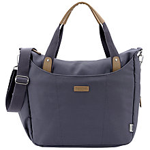 Buy Bababing Roma Changing Bag, Grey Online at johnlewis.com