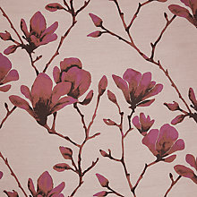 Buy Harlequin Lotus Curtain, Bronze / Magenta Online at johnlewis.com