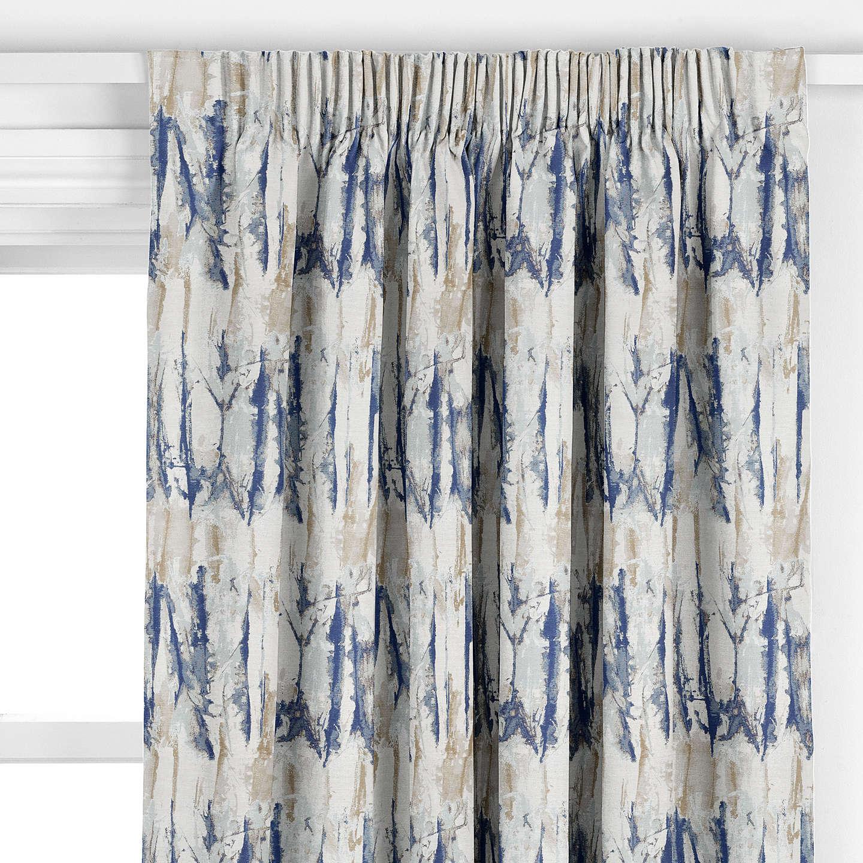 Harlequin Takara Curtain, Indigo / Denim at John Lewis