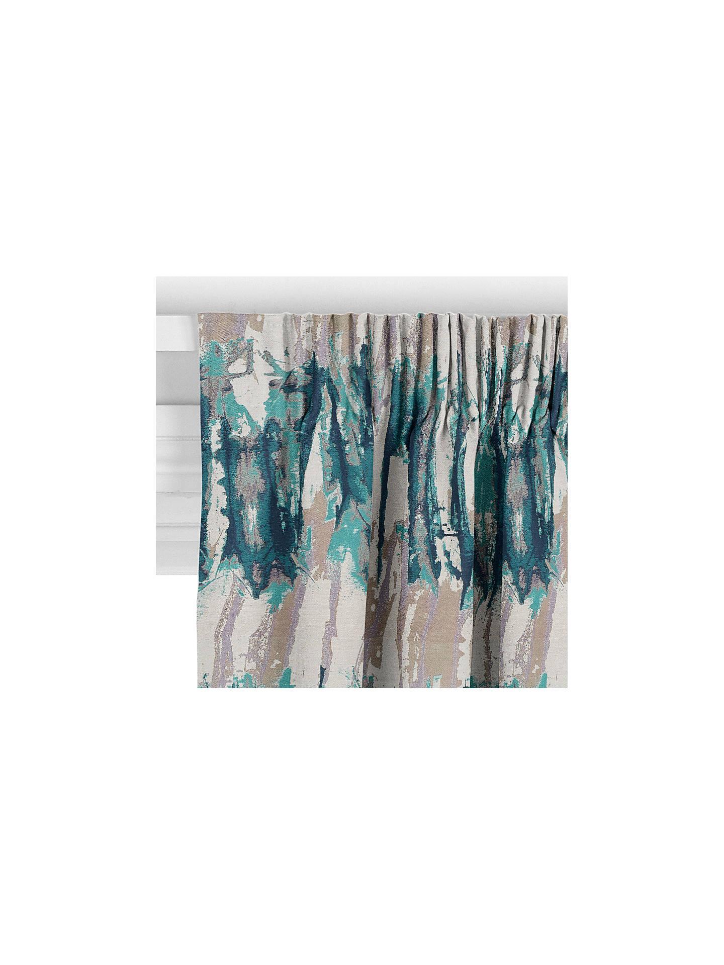 Harlequin Takara Curtain Teal At John Lewis Amp Partners