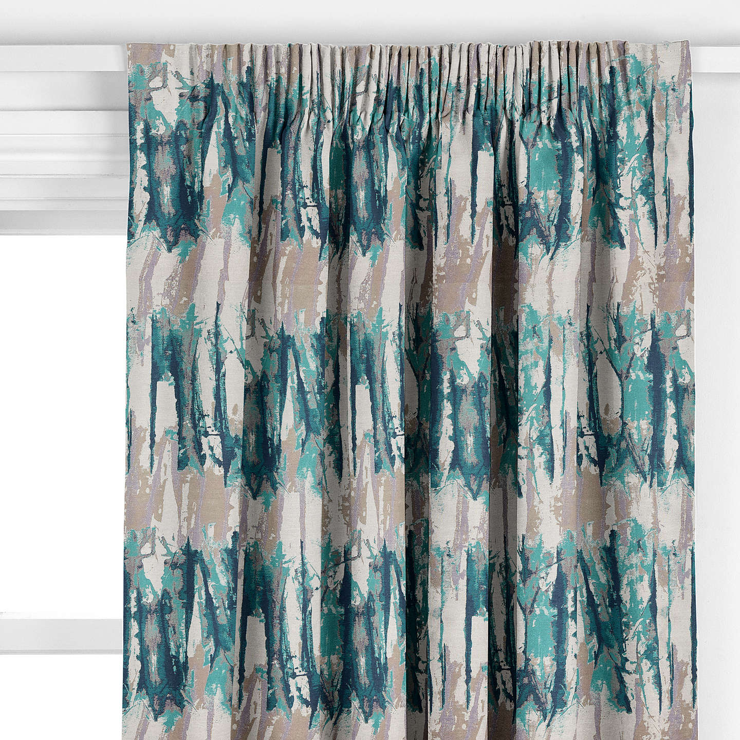 hw ocean curtain west hygge shower mermaids products showercurtain curtains teal