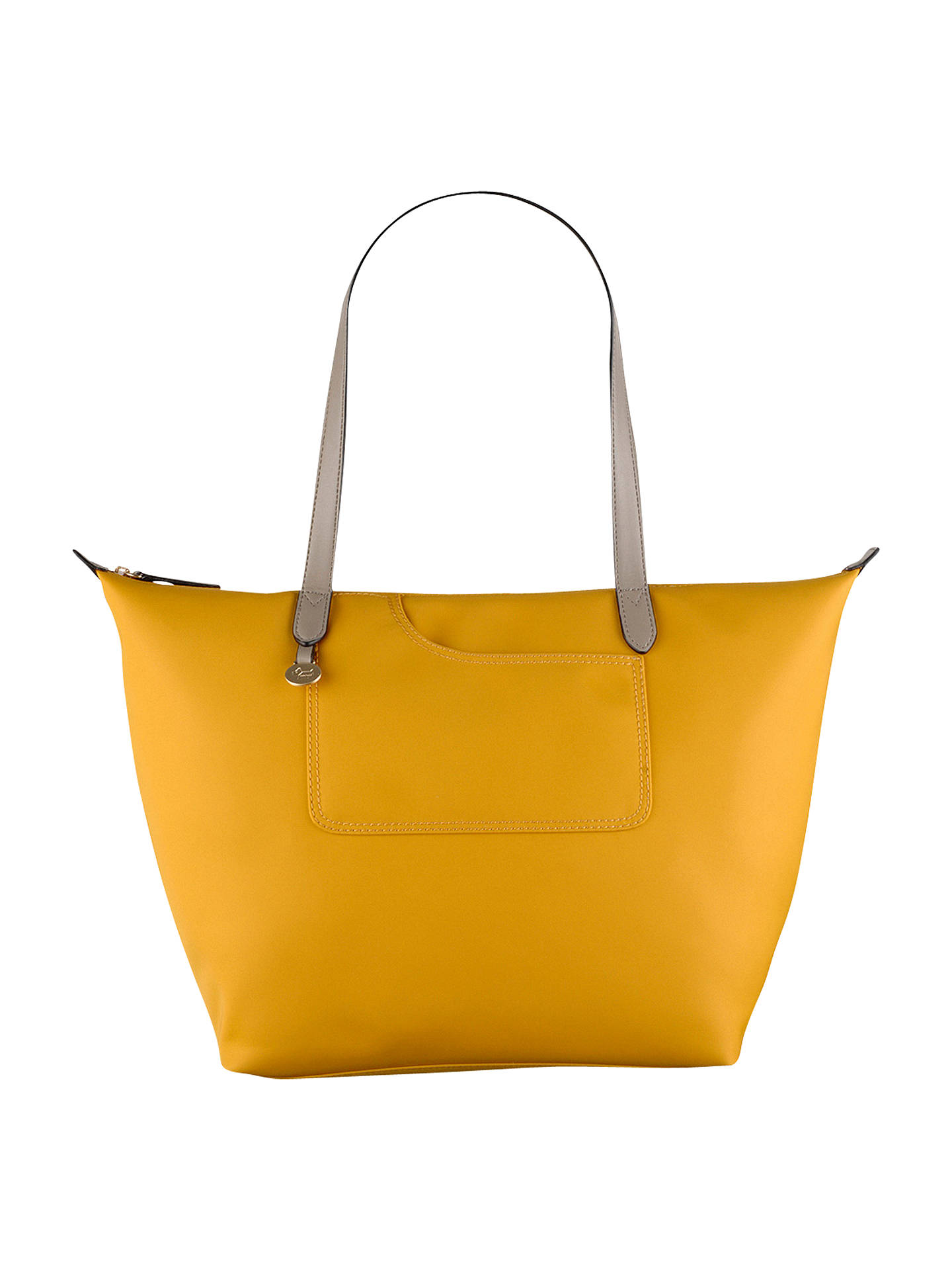 Radley Pocket Essentials Large Zip Top Tote Bag Daffodil Online At Johnlewis