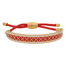 Buy Halcyon Days Friendship Agama Sparkle Bracelet Online at johnlewis.com