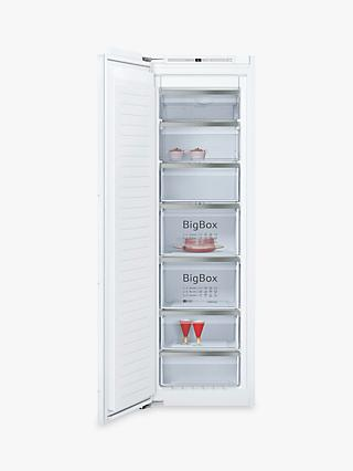 Neff GI7813E30G Integrated Freezer, A++ Energy Rating, 55cm Wide, White