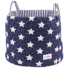 Buy Minene Large Star Storage Basket, Navy Online at johnlewis.com