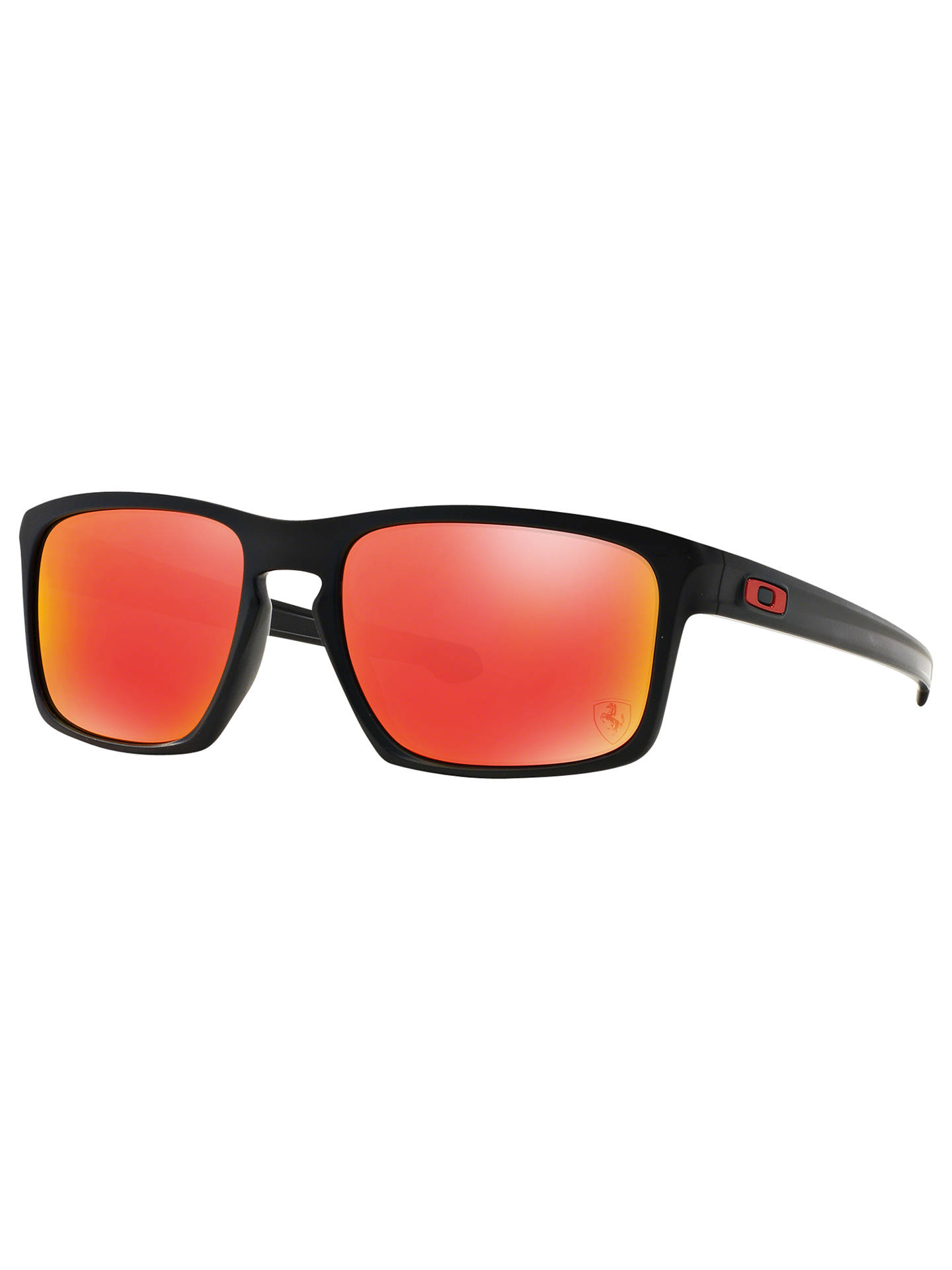 5a4dd0f5c1c BuyOakley OO9262 Sliver Scuderia Ferrari Collection Rectangular Sunglasses