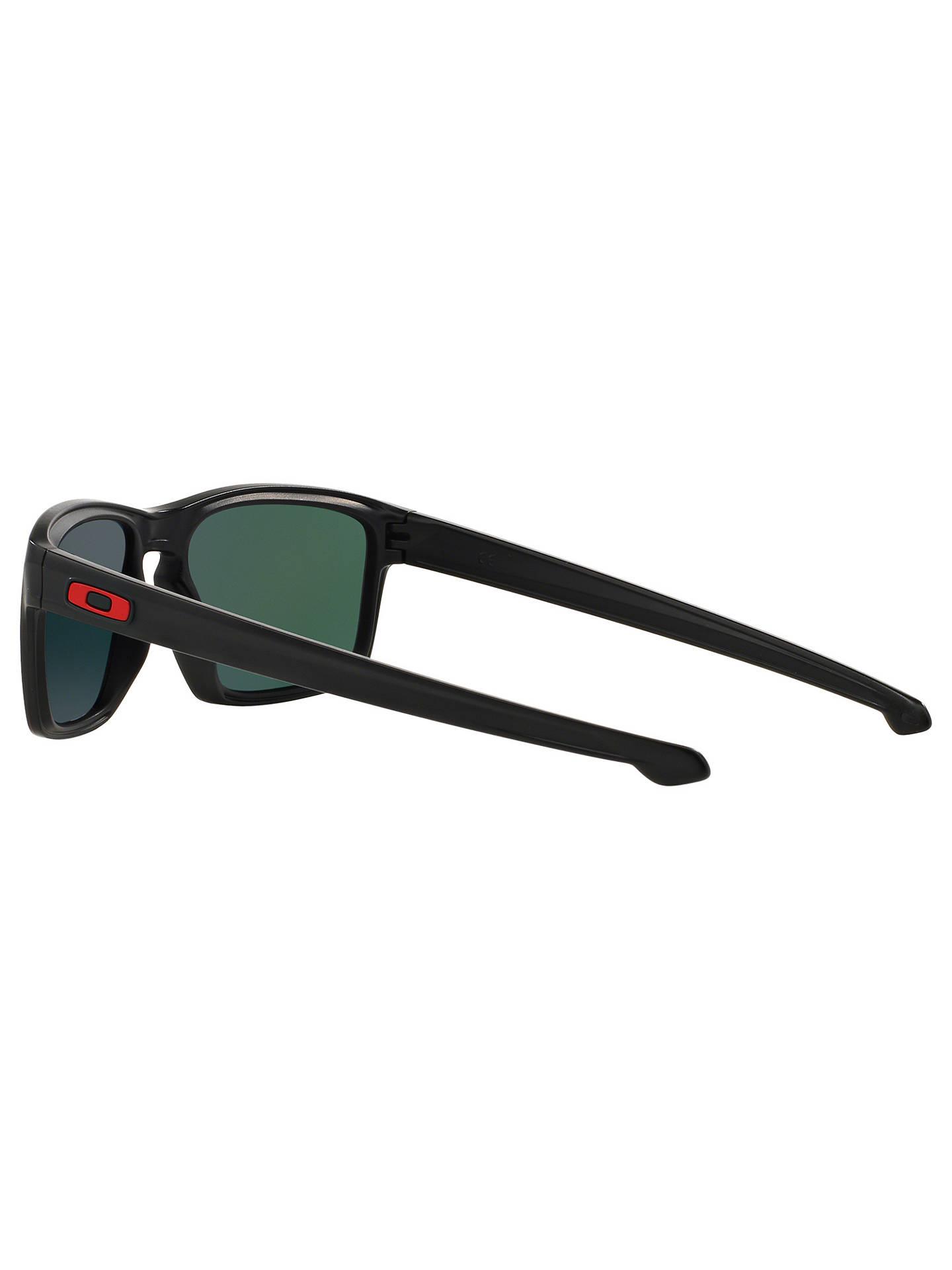 327282c42b87a ... Buy Oakley OO9262 Sliver Scuderia Ferrari Collection Rectangular  Sunglasses