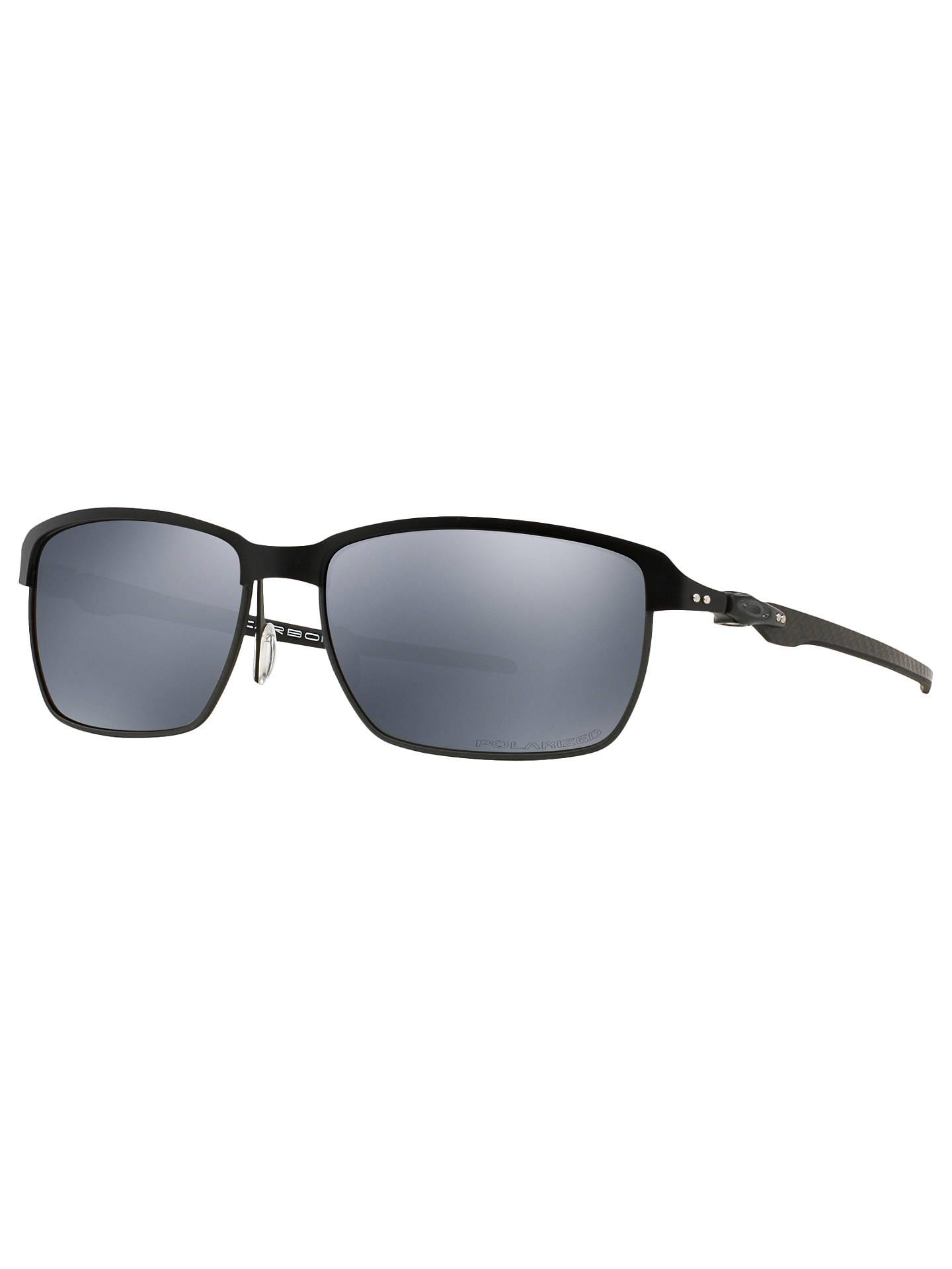 c4641f03725 BuyOakley OO6018 Tinfoil Carbon Polarised Rectangular Sunglasses