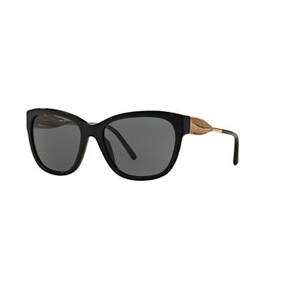 Burberry BE4203 Square Sunglasses, Black