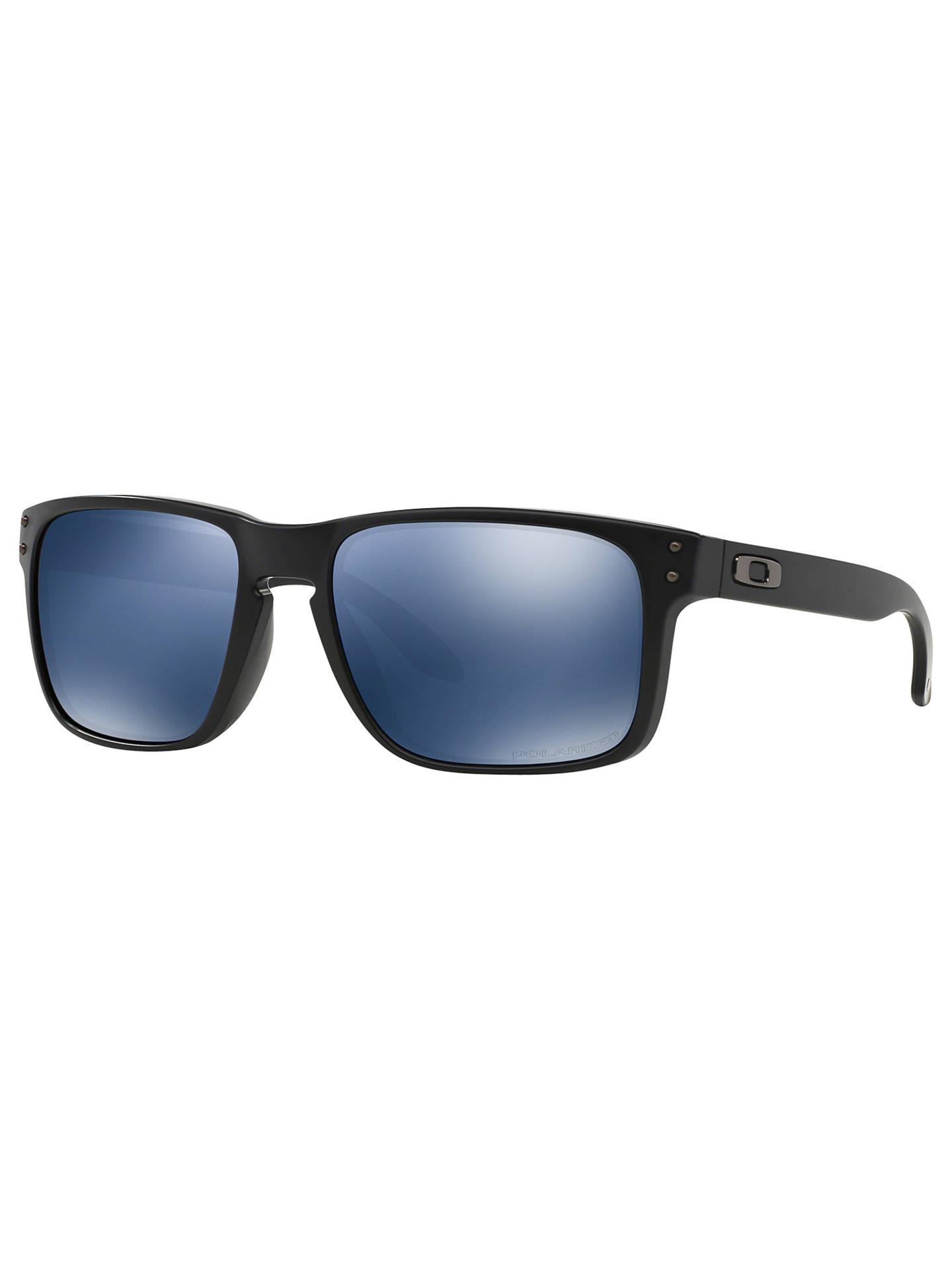 8cfcf8f5b71e Oakley OO9102 Holbrook Polarised Sunglasses at John Lewis   Partners