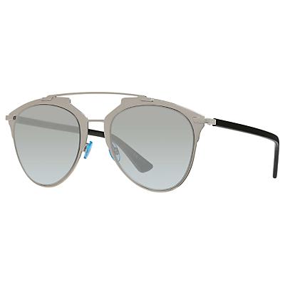 Christian Dior Diorreflected Aviator Sunglasses, Light Gold/Grey Gradient