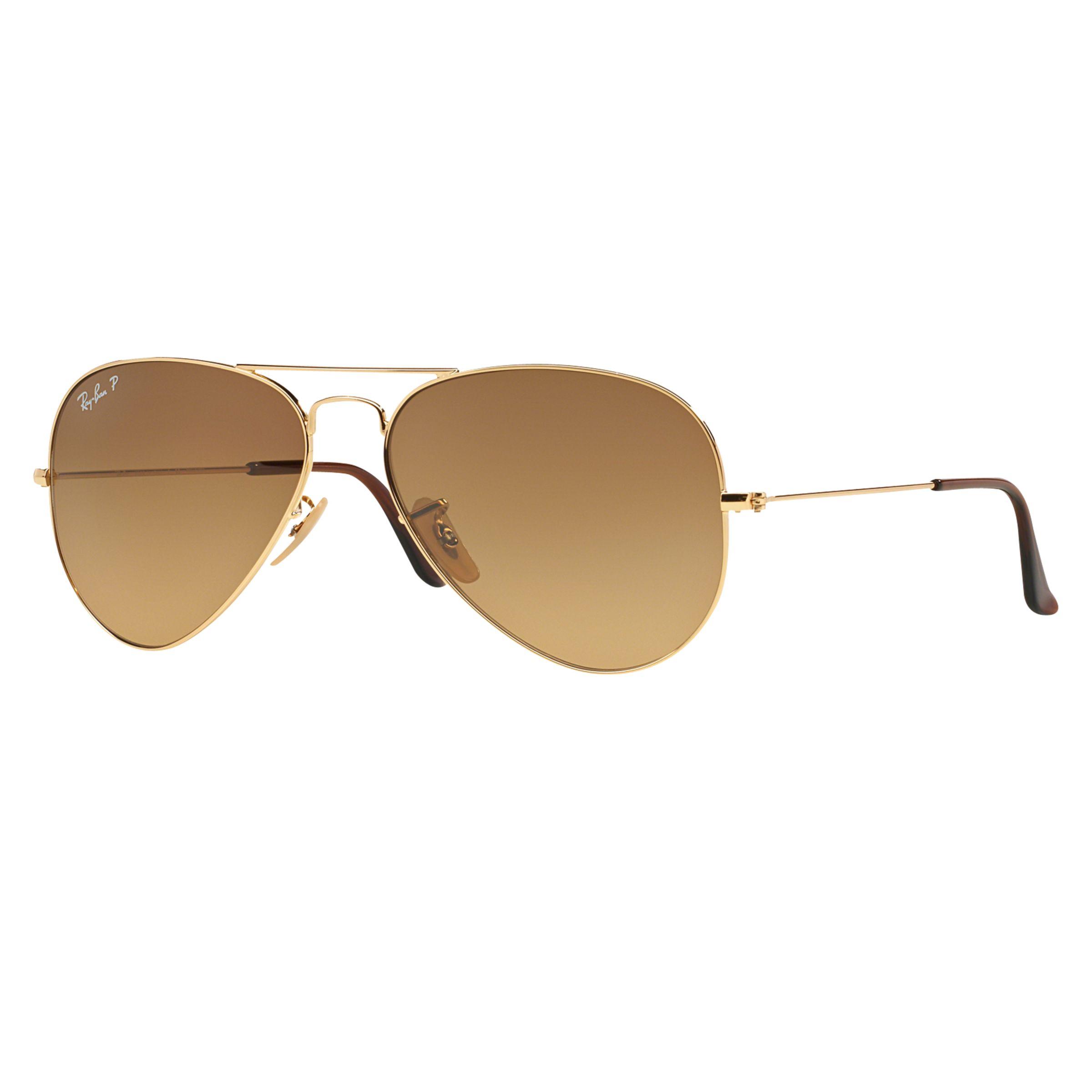 af7649636c Ray-Ban RB3025 Polarised Aviator Sunglasses
