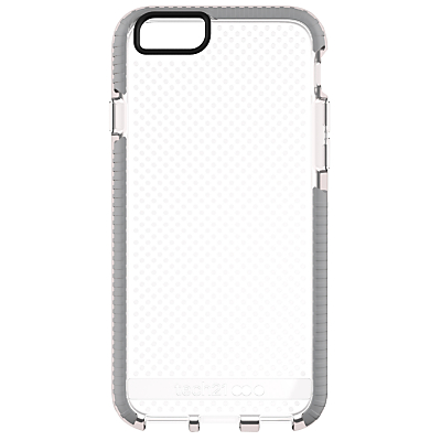 tech21 Evo Mesh Case for Apple iPhone 6/6s, Clear Grey