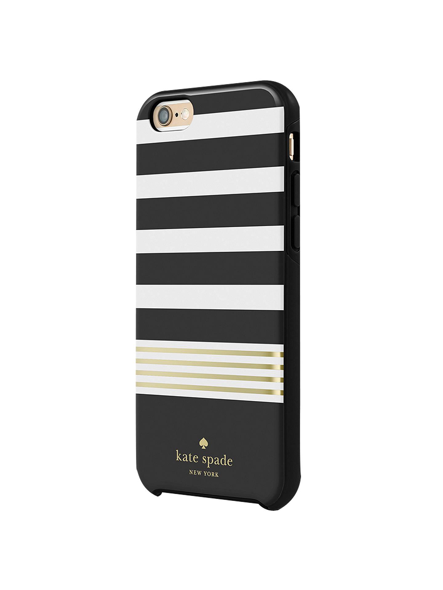 best cheap 9afd6 3f66f kate spade new york Hybrid Hardshell Case for iPhone 6/6s, Stripe 2 ...