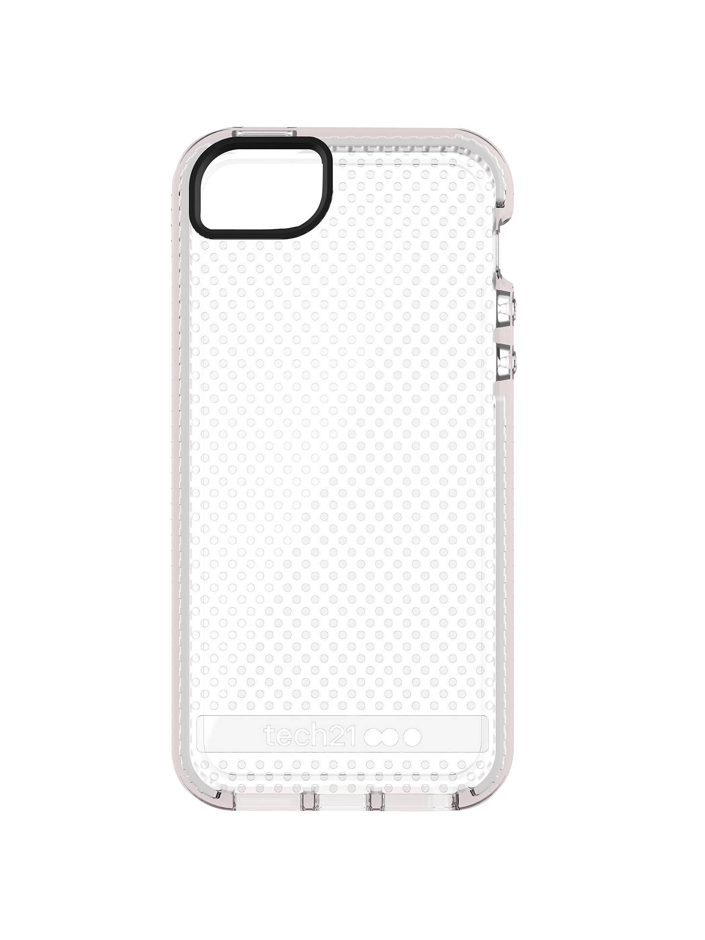 huge selection of 21b2d f1393 tech21 Evo Mesh Case for Apple iPhone 5/5s/SE, Clear White