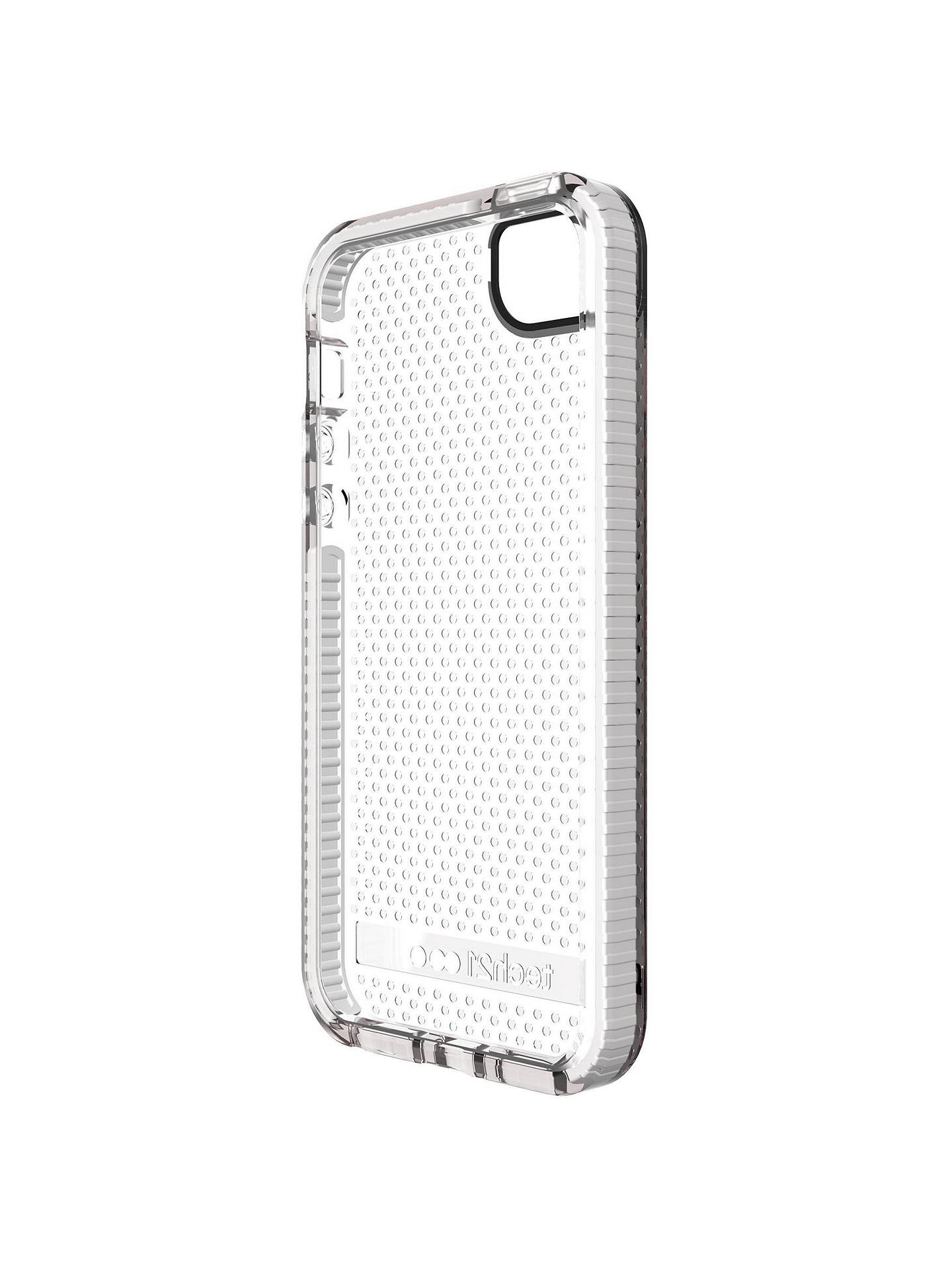 huge selection of 803f3 3af28 tech21 Evo Mesh Case for Apple iPhone 5/5s/SE, Clear White