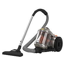 Buy Vax C85-P4-Be Power 4 Cylinder Vacuum Cleaner, Grey/Orange Online at johnlewis.com