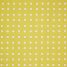 Buy House by John Lewis Dot PVC Tablecloth Fabric, Dandelion Online at johnlewis.com