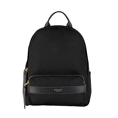 Radley Harley Medium Zip Backpack, Black