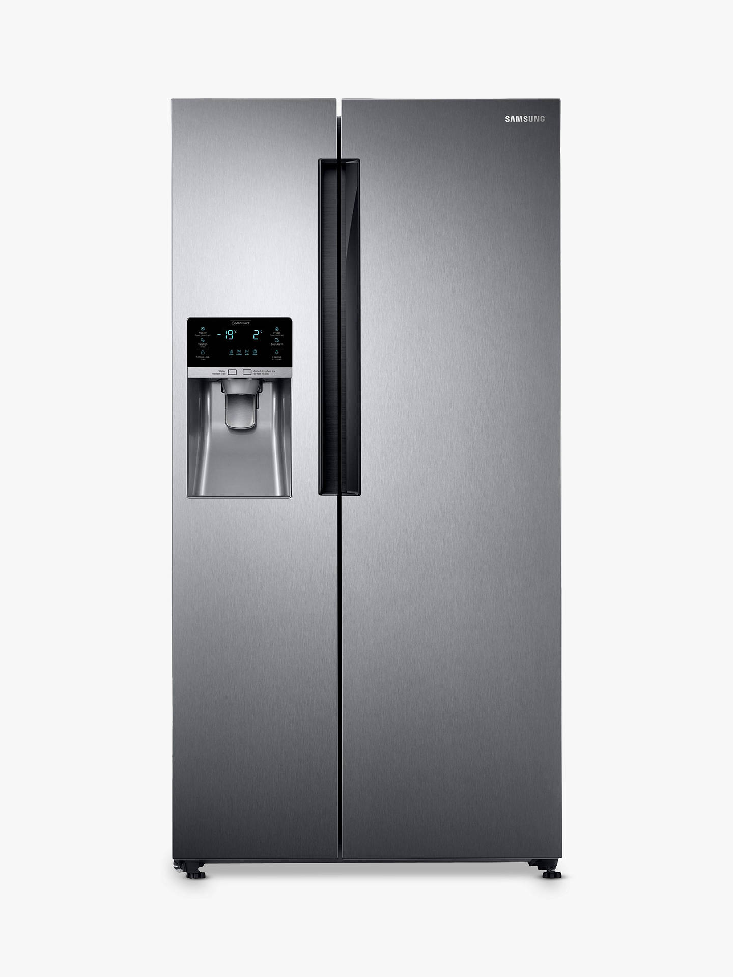 Samsung RS58K6387SL American Style Fridge Freezer, A+ Energy Rating, 90 8cm  Width, Silver