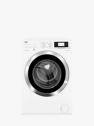 Beko WY104764MW Freestanding Washing Machine, 10kg Load, A+++ Energy Rating, 1400rpm Spin, White