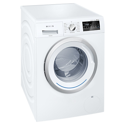Image of Siemens iQ300 WM14N200GB Freestanding Washing Machine, 8kg Load, A+++ Energy Rating, 1400rpm Spin, White