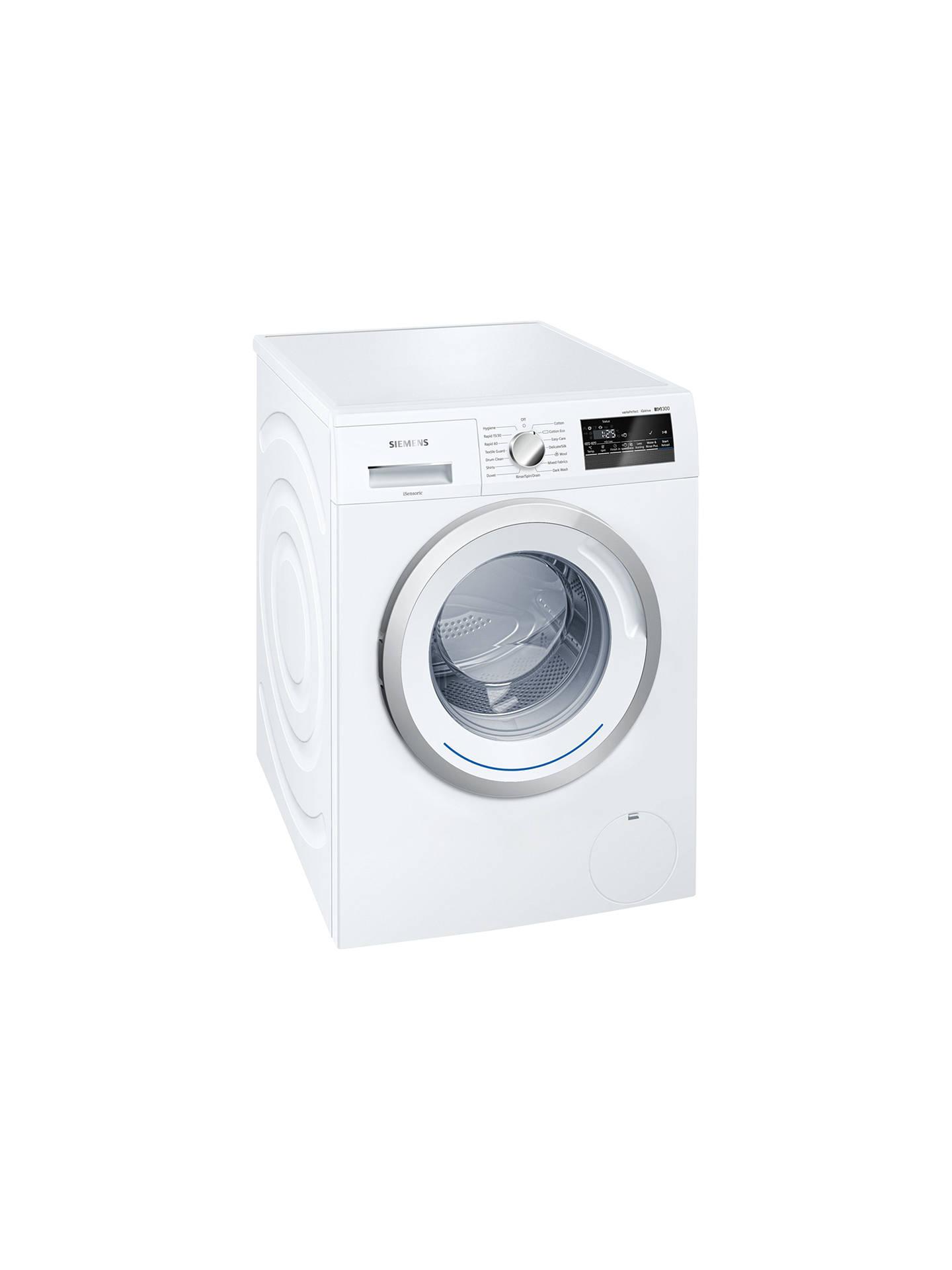 Siemens Iq300 Wm14n200gb Freestanding Washing Machine 8kg Load A