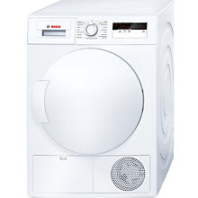 Buy Bosch WTH83000GB Heat Pump Condenser Tumble Dryer, 8kg Load, A+ Energy Rating, White Online at johnlewis.com