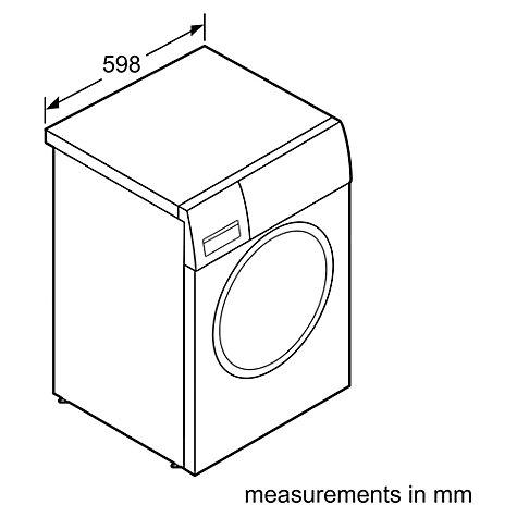 Buy Bosch WTH83000GB Heat Pump Condenser Tumble Dryer, 8kg