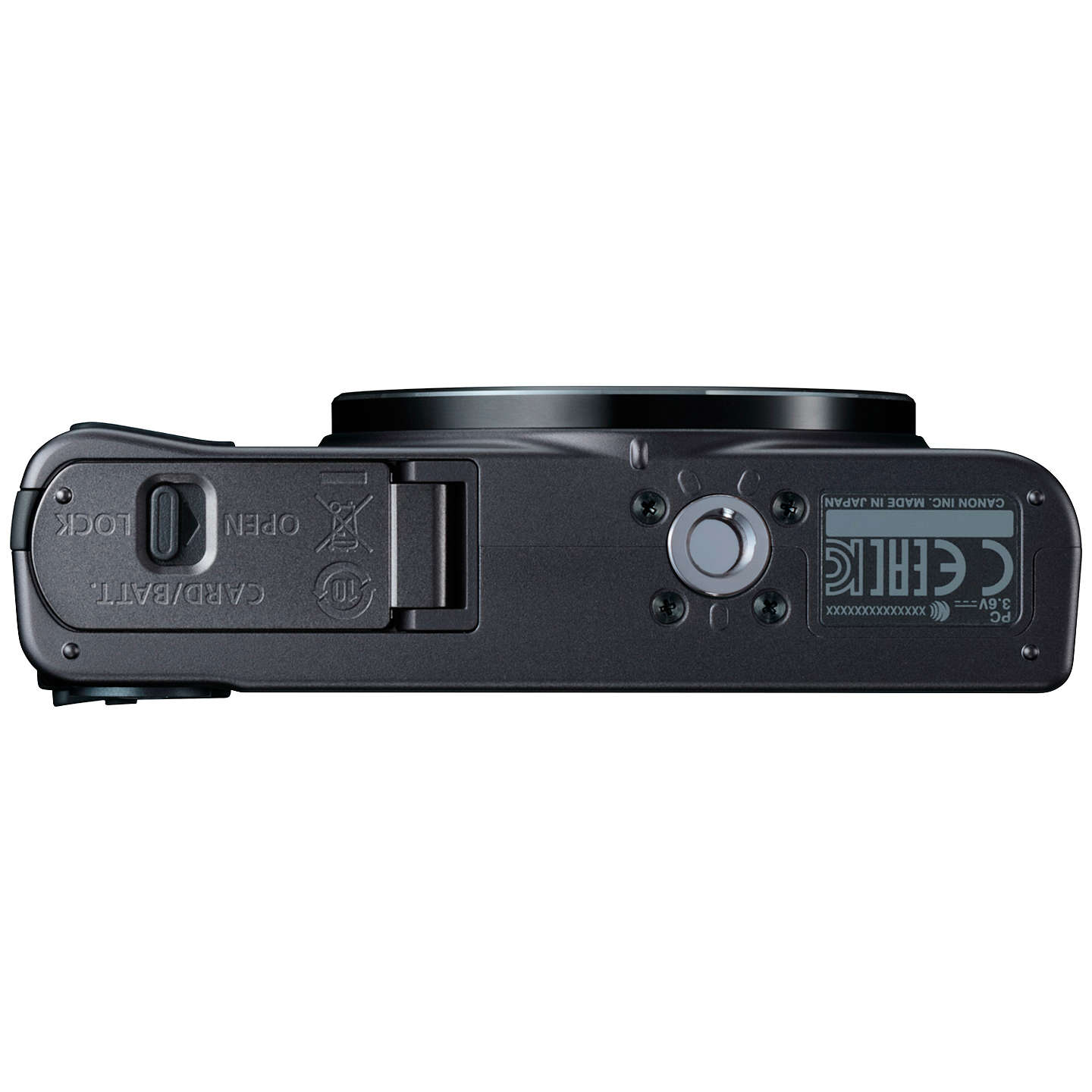 "BuyCanon PowerShot SX620 Digital Camera, HD 1080p, 20.2MP, 25x Optical Zoom, Wi-Fi, NFC, 3"" Screen, Black Online at johnlewis.com"