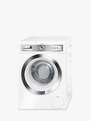 Bosch WAYH8790GB Freestanding Washing Machine with Home Connect, 9kg Load, A+++ Energy Rating, 1400rpm Spin, White