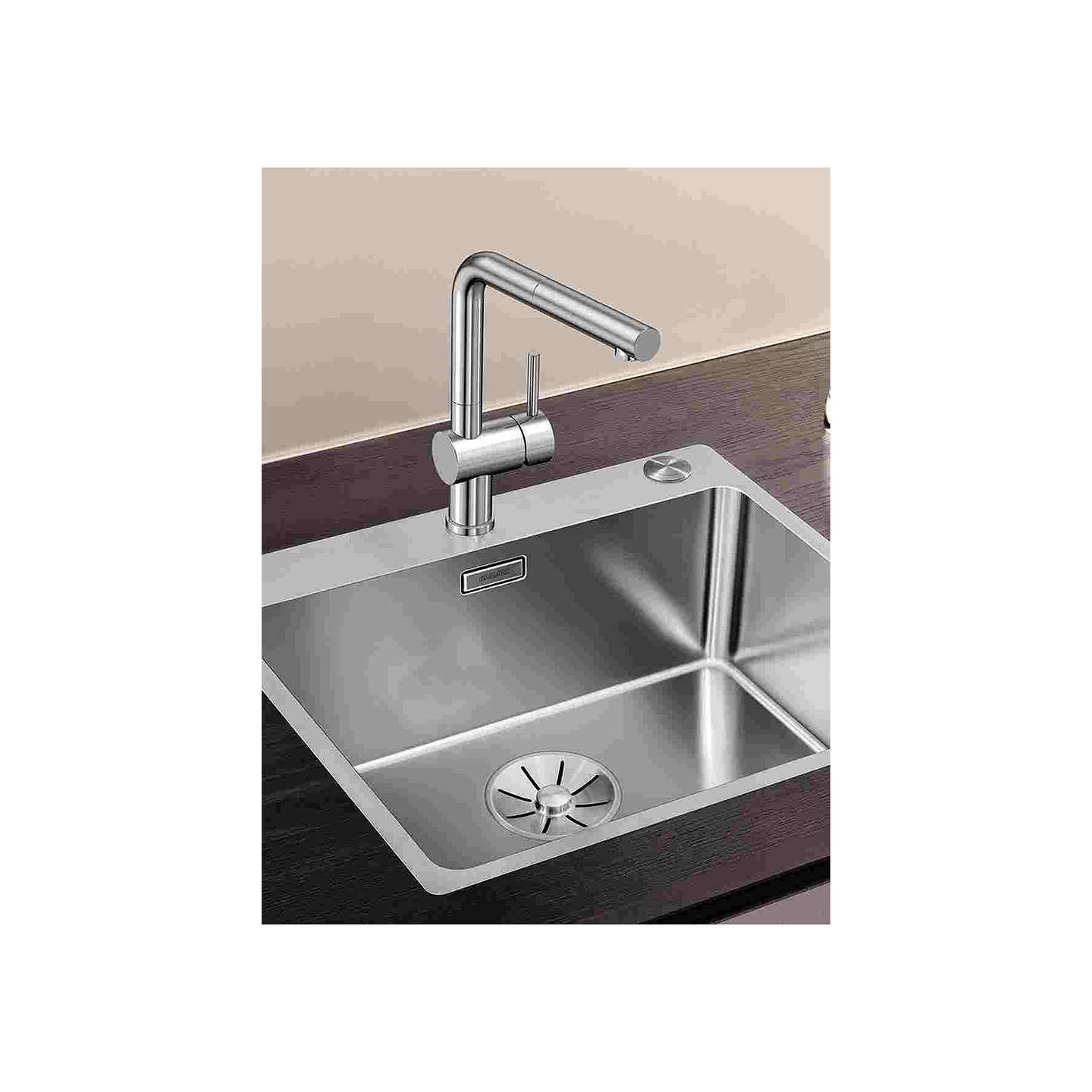 Inset Kitchen Sink Magnificent inset kitchen sink adornment home design ideas and blanco andano 500ifa single bowl inset kitchen sink stainless steel workwithnaturefo