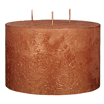 John Lewis Rustic Effect 3 Wick Candle