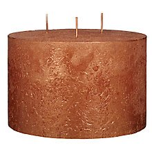 Buy John Lewis Rustic Effect 3 Wick Candle Online at johnlewis.com
