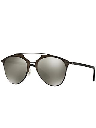 Dior CDM2P Reflected Sunglasses, Black