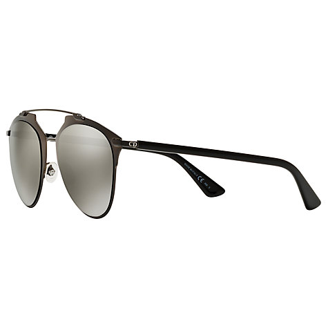 Buy Christian Dior CDM2P Reflected Sunglasses, Black Online at johnlewis.com