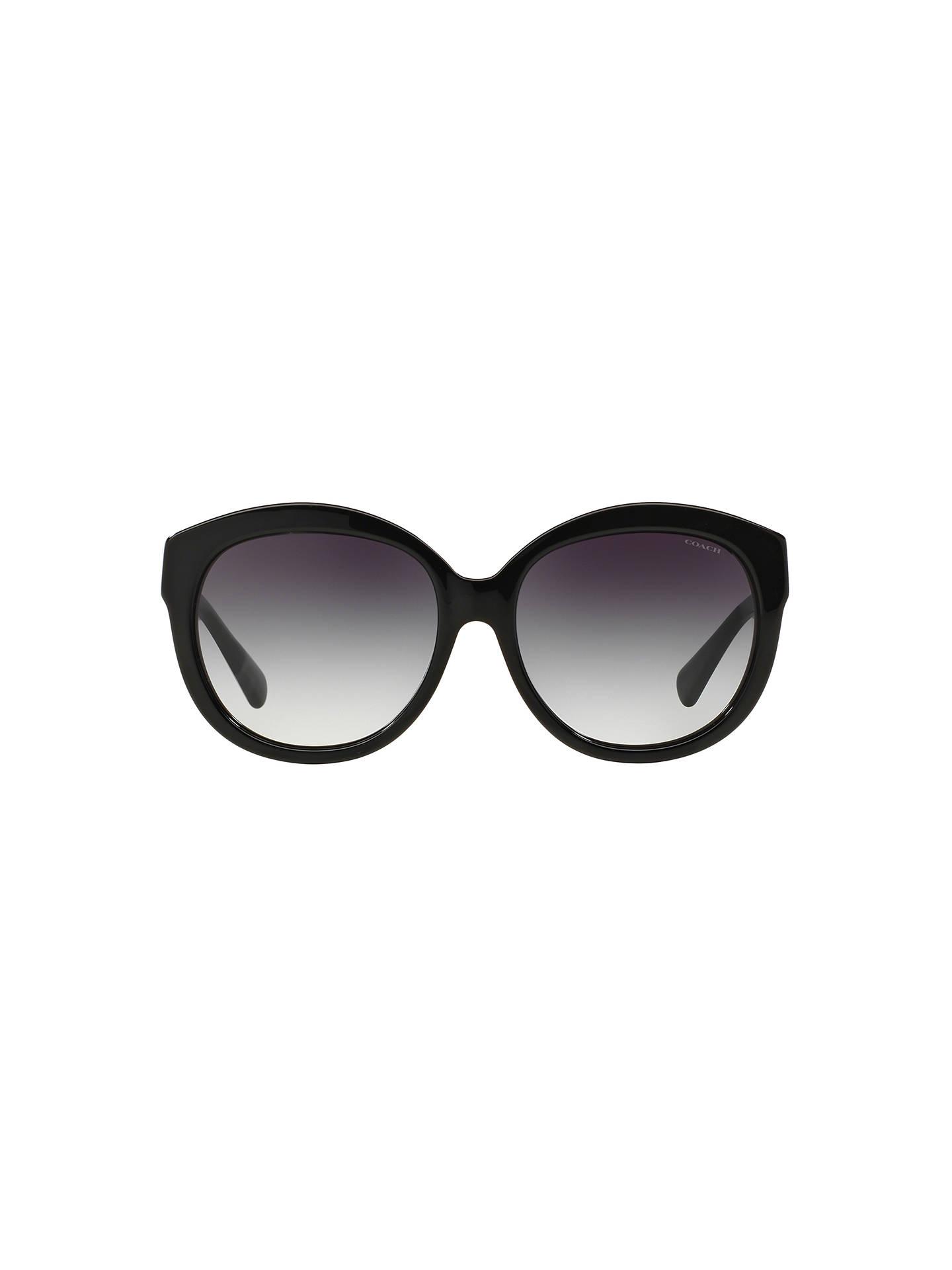 fef062d21d Coach HC8159 Gradient Round Sunglasses at John Lewis   Partners