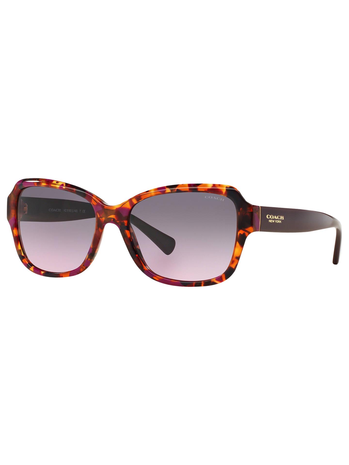 f0b1b41d61 greece buycoach hc8160 square sunglasses purple confetti online at  johnlewis e52df 89138