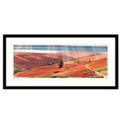 Jill Ray – Autumn on the Moor Framed Print, 104 x 49cm