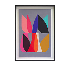 Buy Inaluxe - Blossom 2 Framed Print, 59 x 45cm Online at johnlewis.com