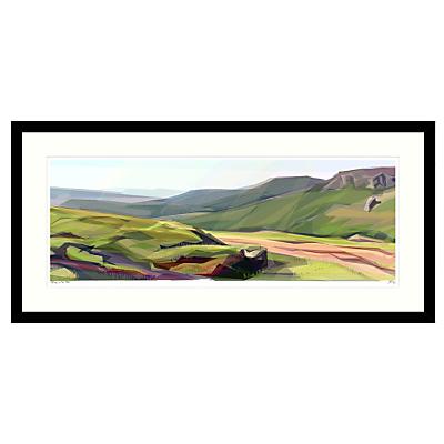 Jill Ray – Spring on the Moor Framed Print, 104 x 49cm