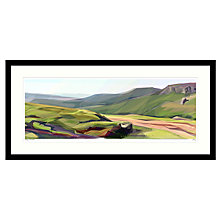 Buy Jill Ray - Spring on the Moor Framed Print, 104 x 49cm Online at johnlewis.com