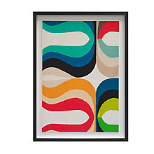 Buy Inaluxe - The Kiss Framed Print, 59 x 45cm Online at johnlewis.com
