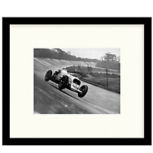 Buy Getty Images Gallery - John Cobb Racing Framed Print, 49 x 57cm Online at johnlewis.com