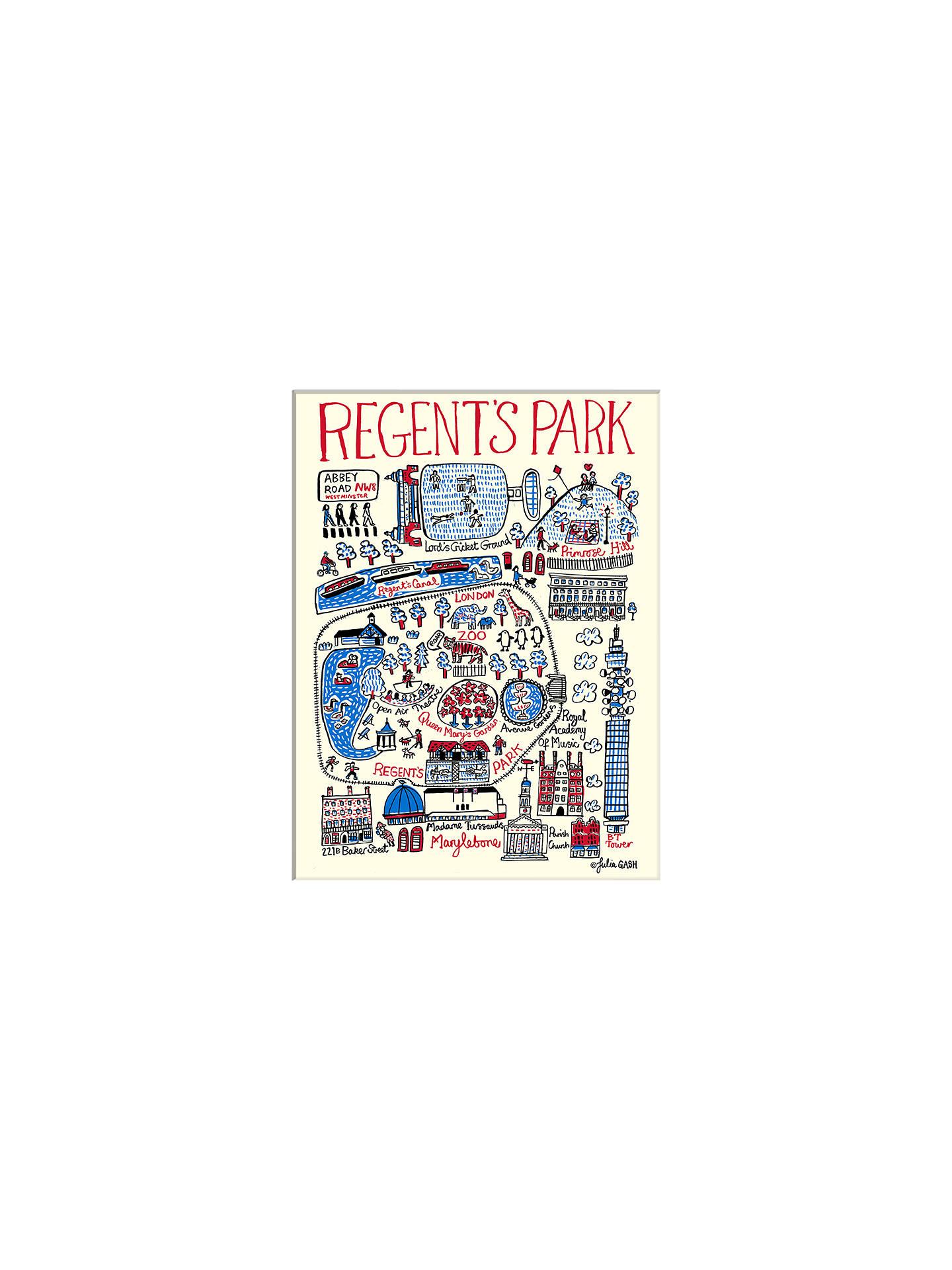 Julia Gash Regent s Park Unframed Print with Mount 30 x 40cm at