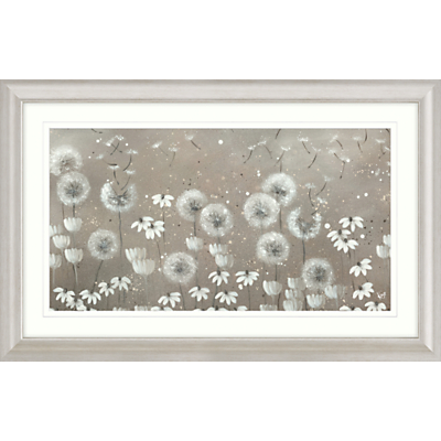 Kaye Lake – Day Dreaming Dandelions Framed Print, 110.5 x 70.5cm